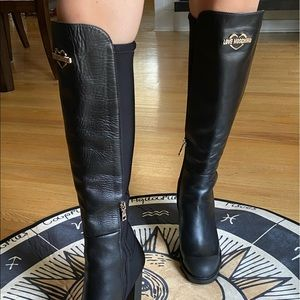 Love Moschino tall #leather boots